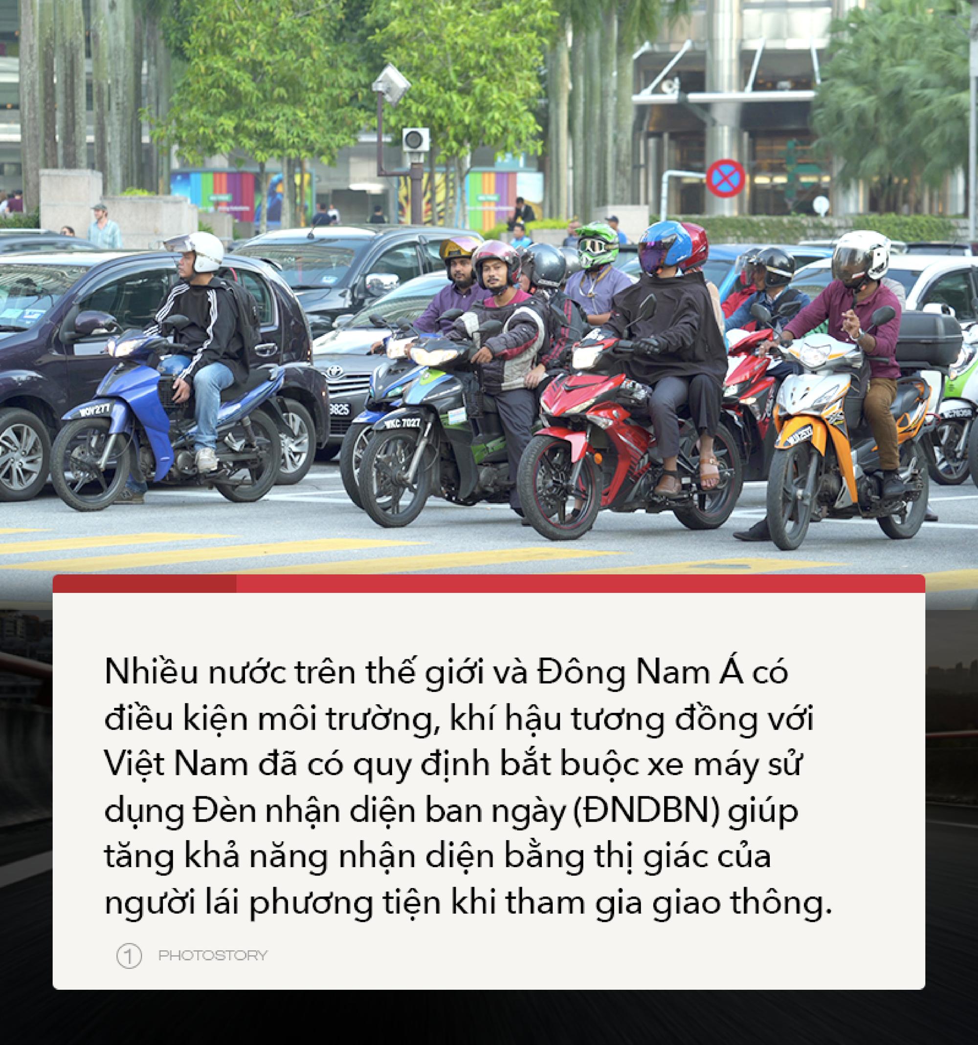 Đèn nhận diện ban ngày, xu hướng dần trở nên phổ biến tại Việt Nam - Ảnh 3.
