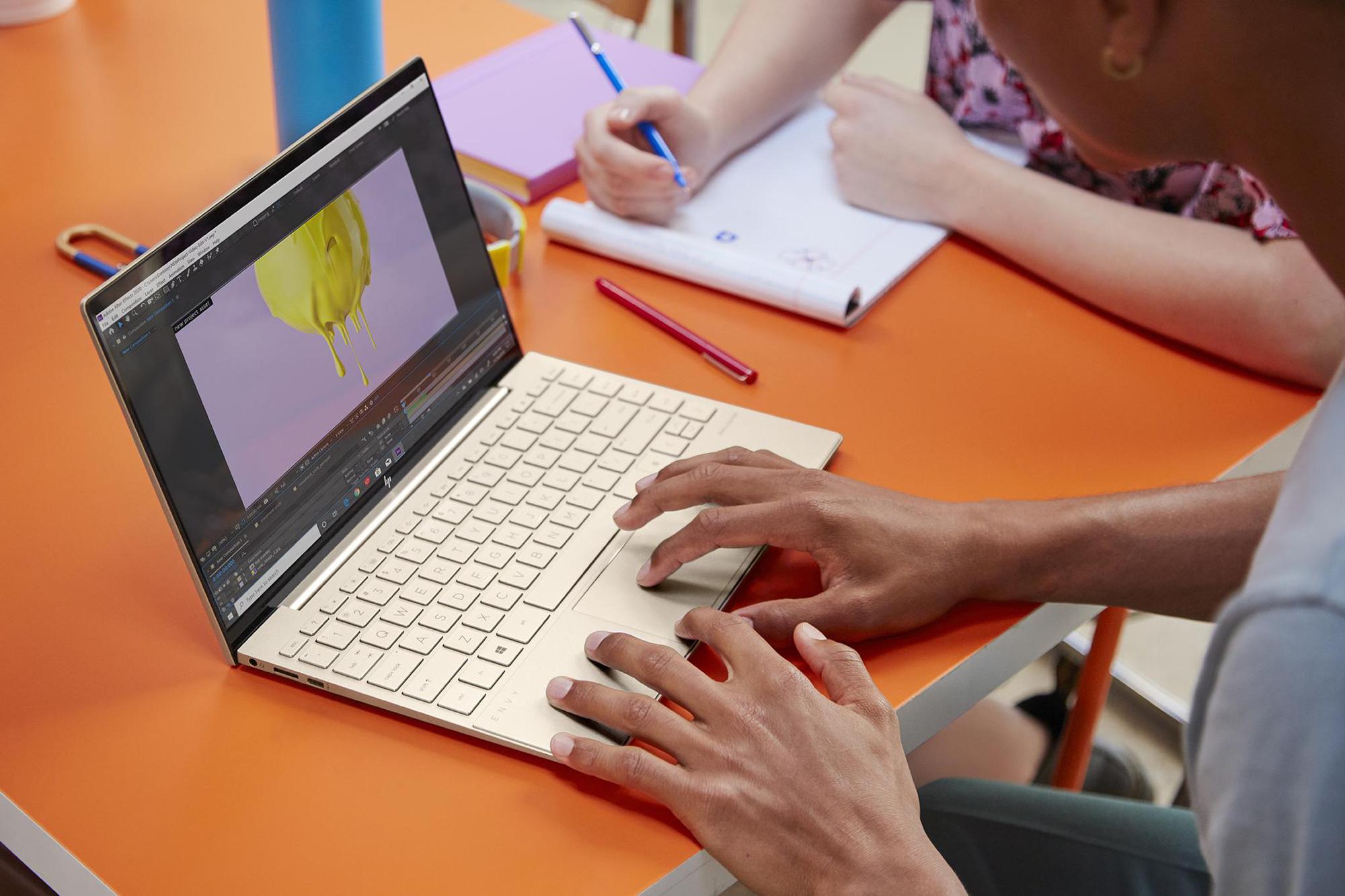 HP Envy 13 nâng cấp cấu hình: Intel Tiger Lake, 16GB RAM, pin trên 9 giờ, Office bản quyền - Ảnh 4.