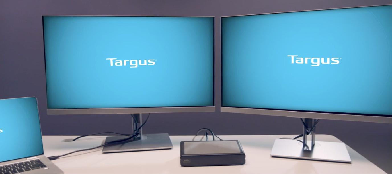 Thiết lập màn hình kép video 4K tăng năng suất làm việc với Docking thương hiệu Targus - Ảnh 2.