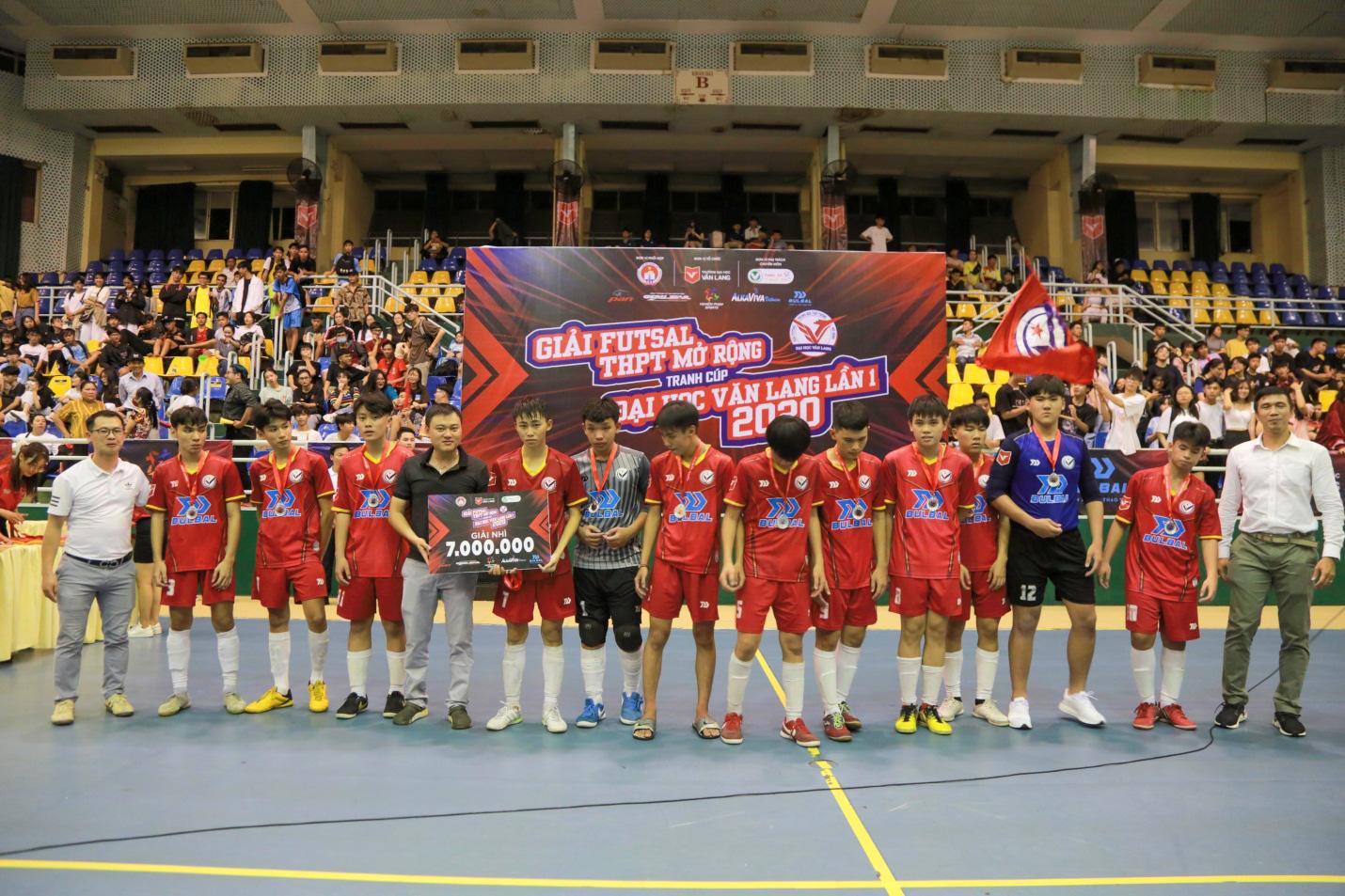 THPT Thanh Đa vô địch Giải Futsal học sinh THPT mở rộng tranh cúp ĐH Văn Lang năm 2020 - Ảnh 4.