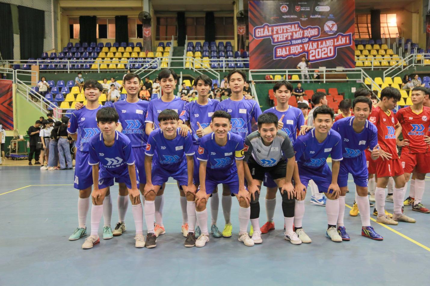 THPT Thanh Đa vô địch Giải Futsal học sinh THPT mở rộng tranh cúp ĐH Văn Lang năm 2020 - Ảnh 6.