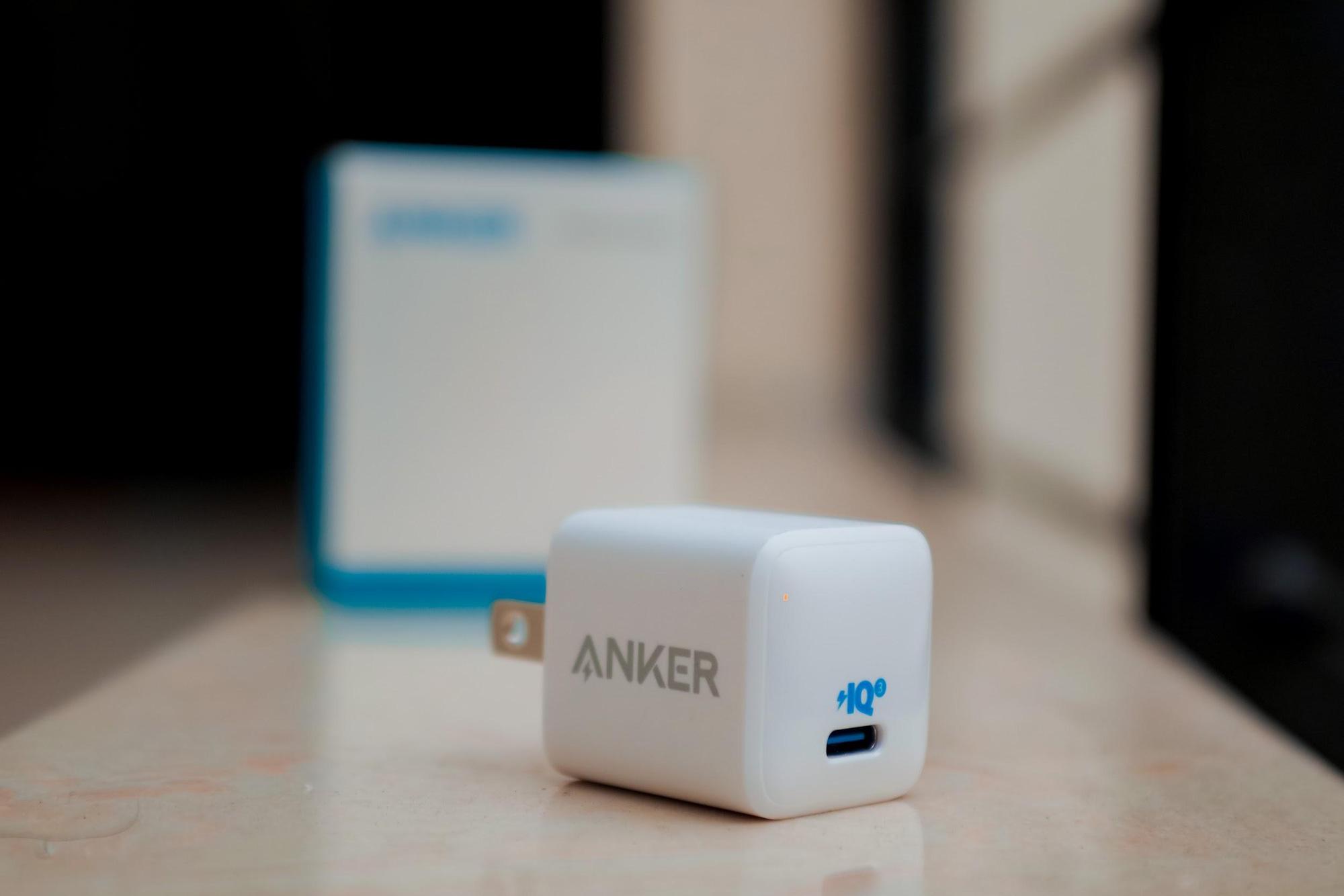 Combo sạc cáp siêu nhỏ gọn Anker PowerPort III Nano và PowerLine III - Ảnh 1.