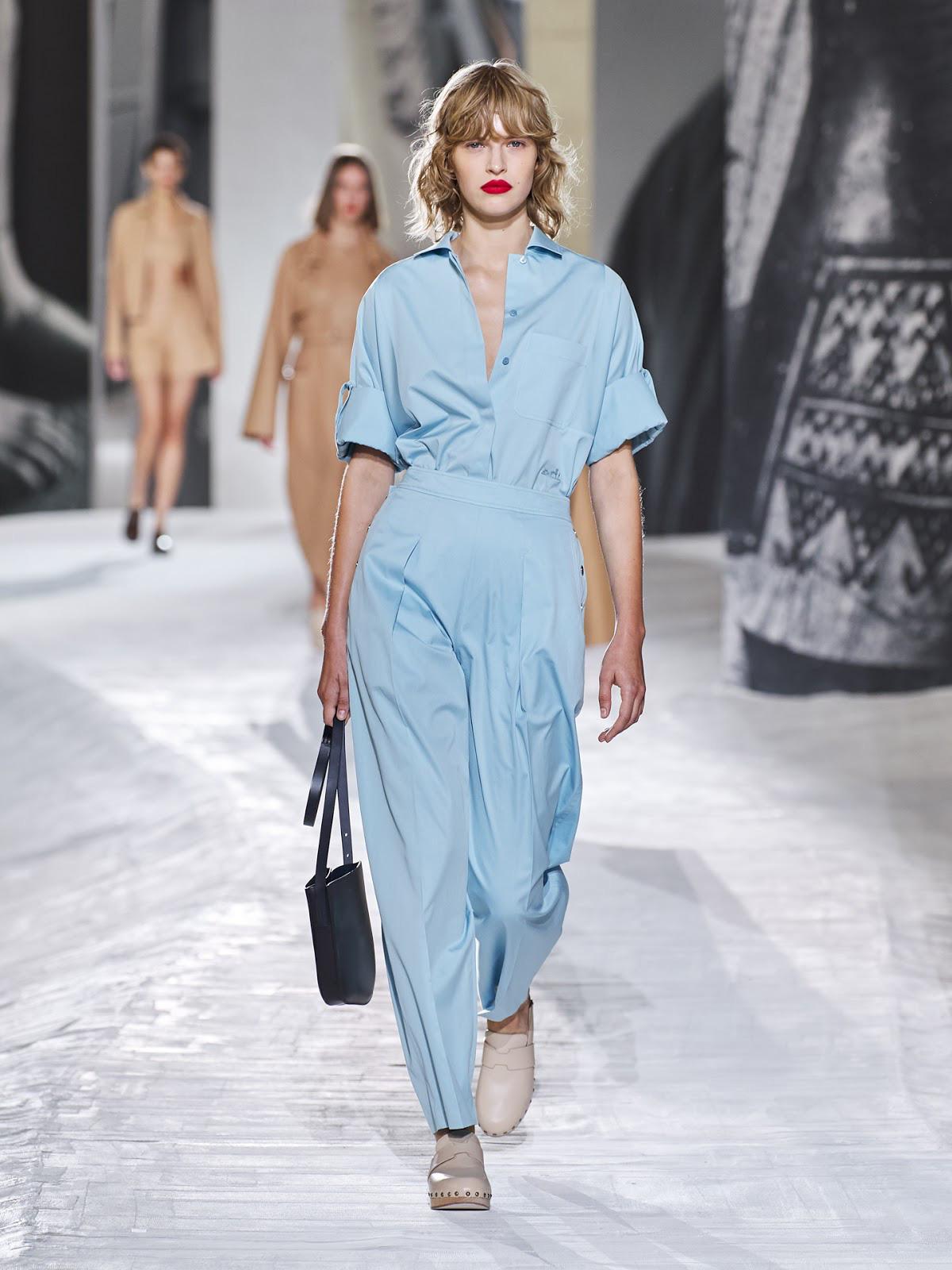 Hermès Xuân - Hè 2021: Bộ sưu tập chắp vá và giấc mơ xa xỉ bình dị của Nadège Vanhee-Cybulski - Ảnh 3.