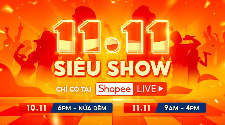 Rhymastic, Bảo Thy, Isaac và dàn sao hot nhất Vbiz cùng đổ bộ Shopee 11.11 Siêu Show - Ảnh 1.