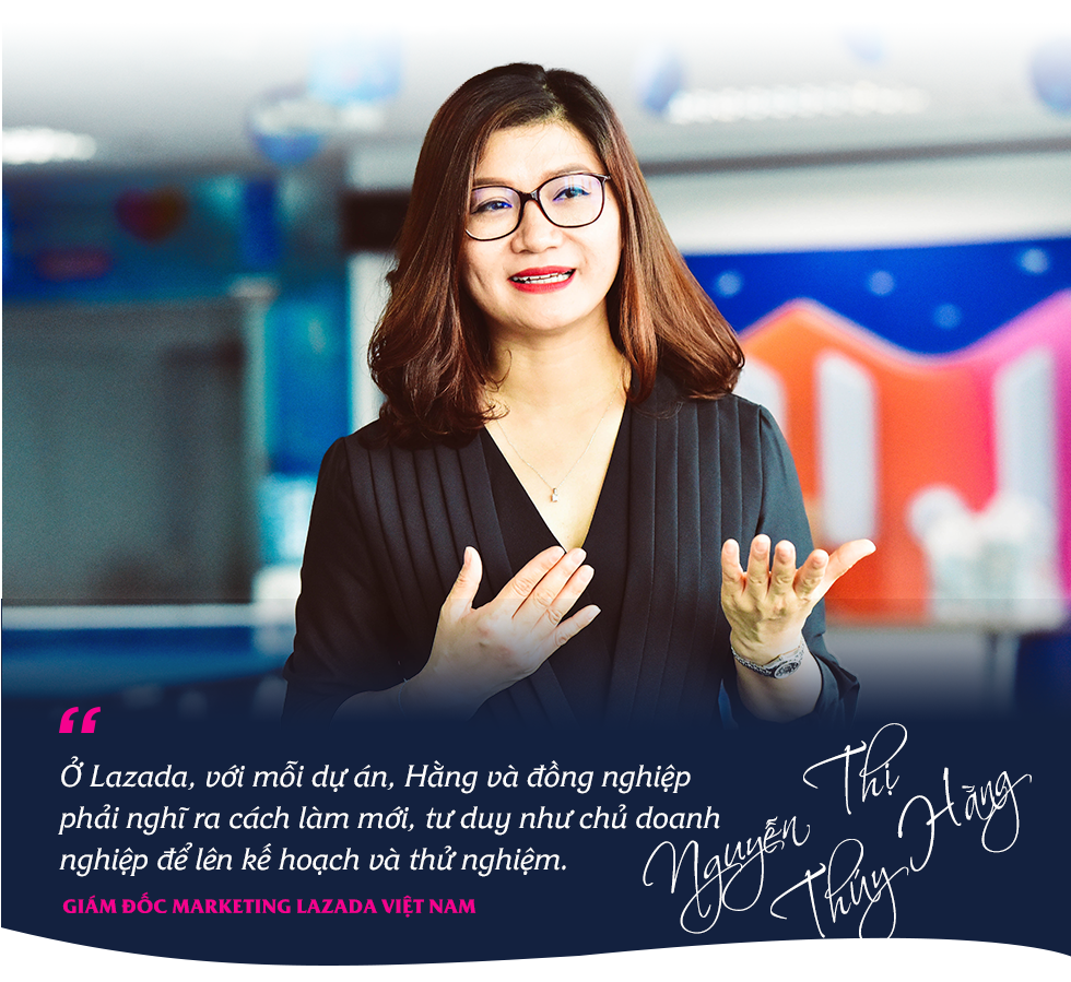 CMO Nguyễn Thị Thúy Hằng: Làm việc ở Lazada sẽ có tư duy như chủ của một start-up - Ảnh 7.
