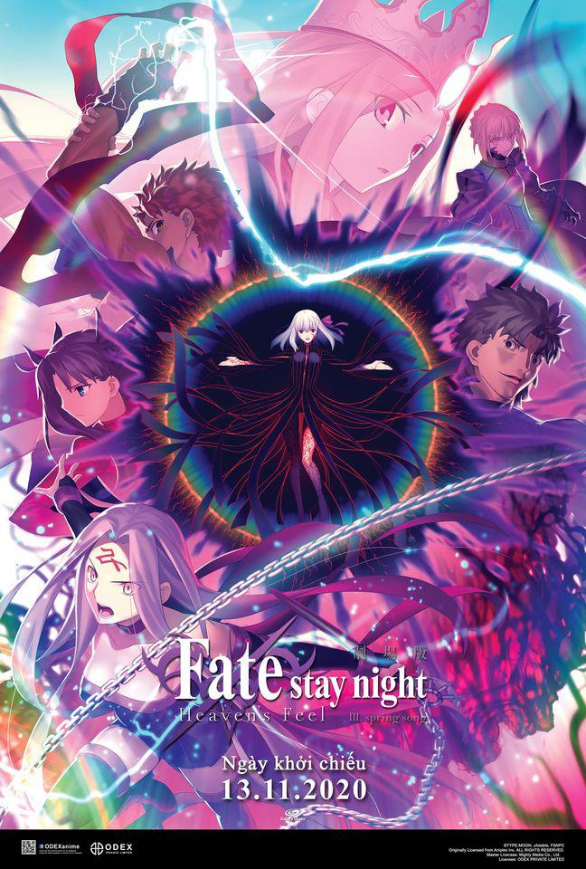Bỏ túi bí kíp trước khi xem Fate/stay night: Heaven's Feel III - Ảnh 1.