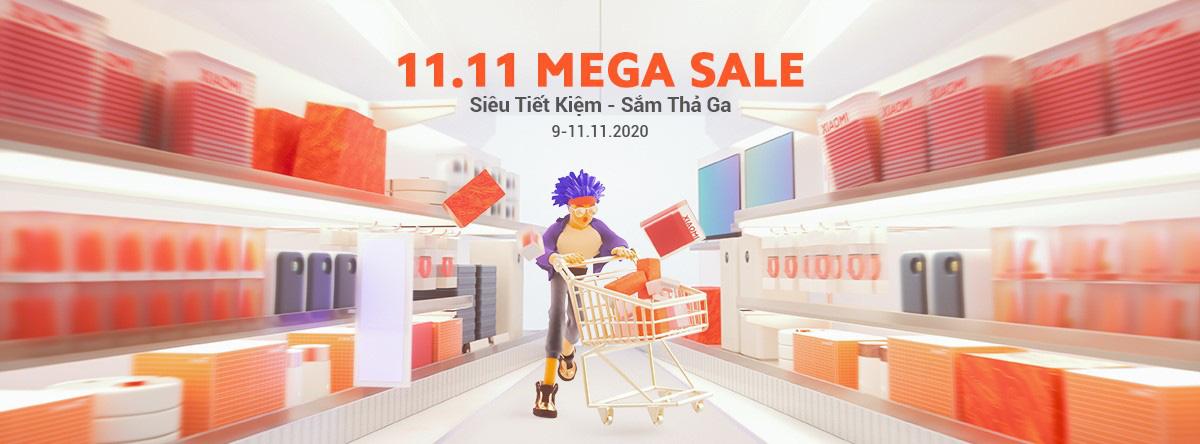 Siêu tiết kiệm - sắm thả ga hàng loạt sản phẩm Xiaomi với mức giá siêu ưu đãi nhân ngày lễ độc thân 11.11 - Ảnh 1.