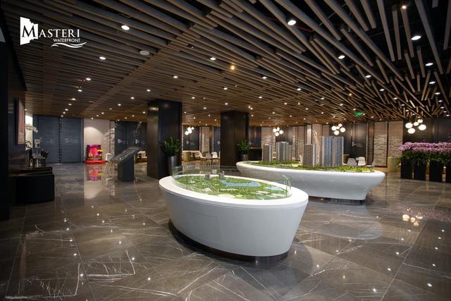 Trải nghiệm đặc biệt với nhà mẫu của dự án Masteri Waterfront tại Hà Nội - Ảnh 1.