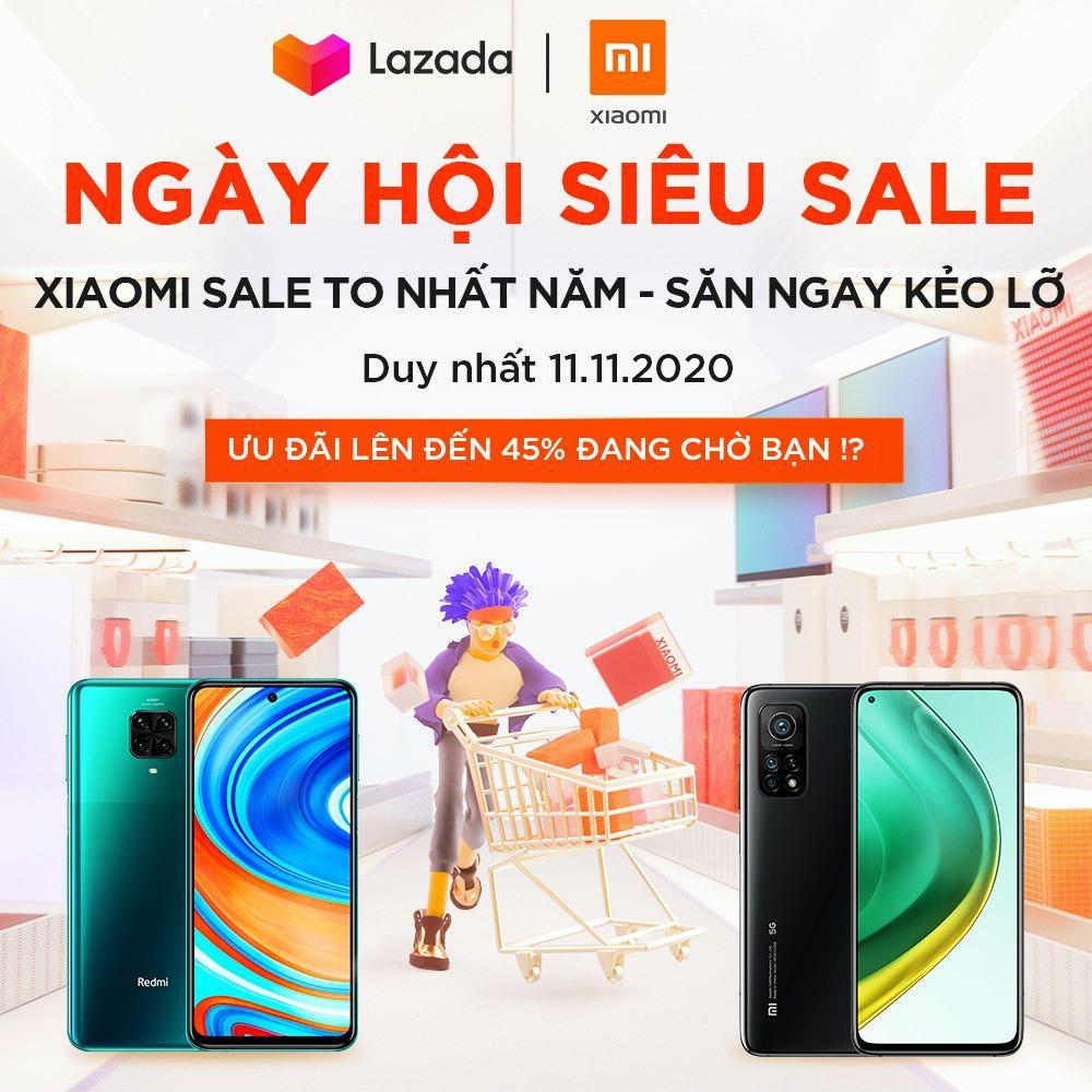 Siêu tiết kiệm - sắm thả ga hàng loạt sản phẩm Xiaomi với mức giá siêu ưu đãi nhân ngày lễ độc thân 11.11 - Ảnh 3.