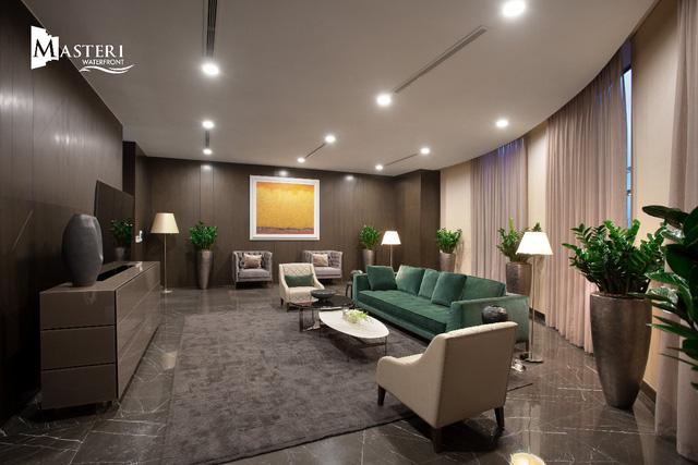 Trải nghiệm đặc biệt với nhà mẫu của dự án Masteri Waterfront tại Hà Nội - Ảnh 2.