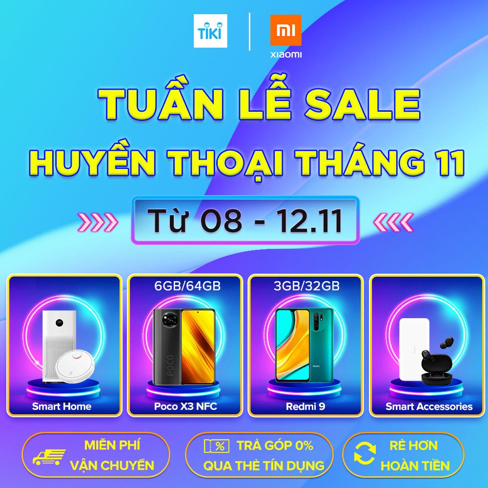 Siêu tiết kiệm - sắm thả ga hàng loạt sản phẩm Xiaomi với mức giá siêu ưu đãi nhân ngày lễ độc thân 11.11 - Ảnh 4.
