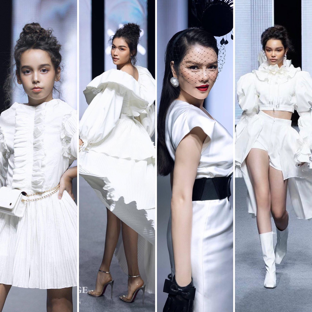 """Thiên thần nhí lai Úc tỏa sáng ở show Fashion KK với vẻ đẹp """"hút hồn"""" - Ảnh 1."""