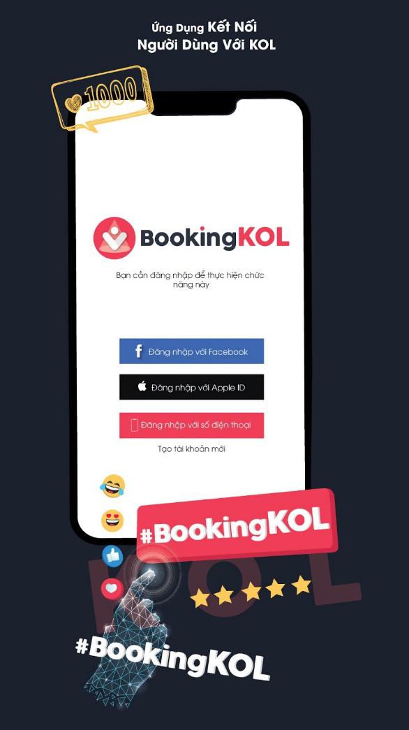 Ra mắt ứng dụng BookingKOL: Thế giới nghệ thuật gói gọn trong tay bạn - Ảnh 3.