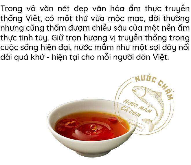 Nước mắm - Gói trọn tinh túy ẩm thực Việt trong chiếc chén nhỏ gắn kết bao thế hệ gia đình - Ảnh 1.