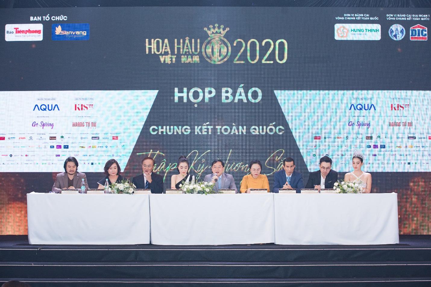 Mỹ phẩm Kis22 đồng hành cùng Hoa hậu Việt Nam 2020 trong buổi Họp báo Chung kết toàn quốc - Ảnh 1.