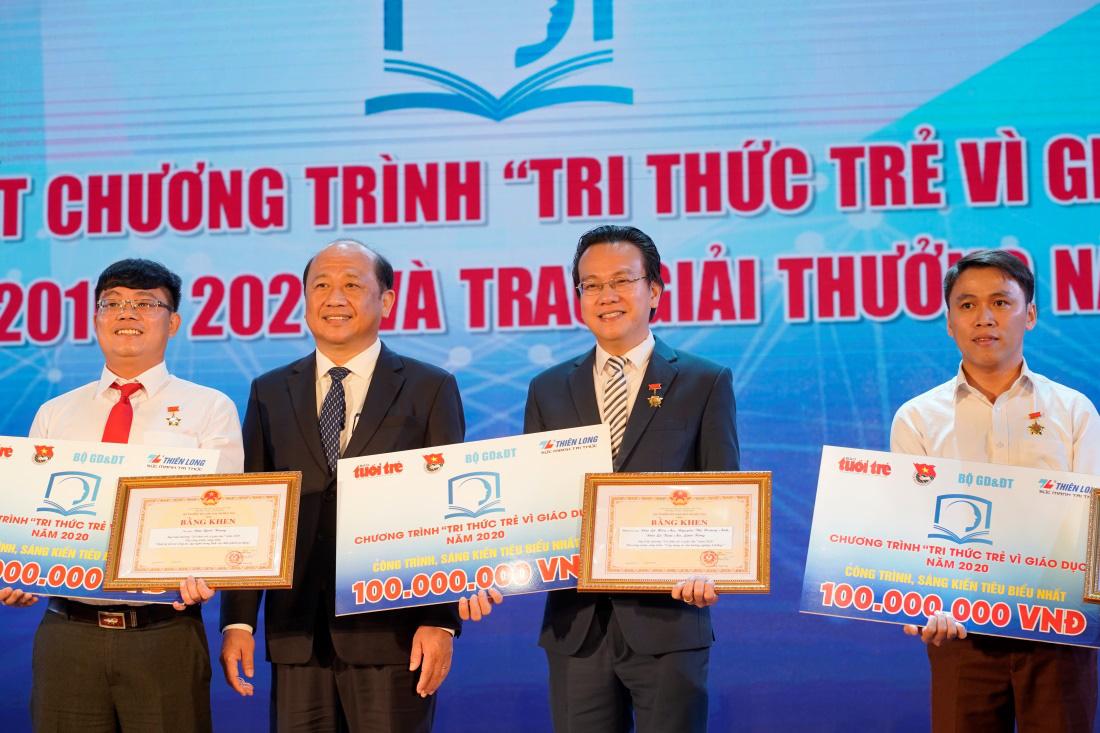 Thiên Long bày tỏ lòng biết ơn đến những người cống hiến cho giáo dục trong tháng 11 - Ảnh 2.