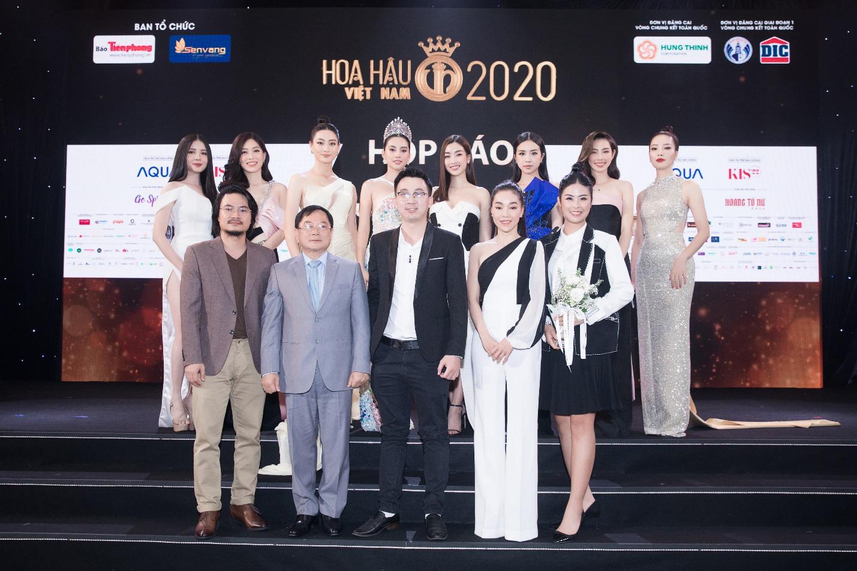 Mỹ phẩm Kis22 đồng hành cùng Hoa hậu Việt Nam 2020 trong buổi Họp báo Chung kết toàn quốc - Ảnh 3.
