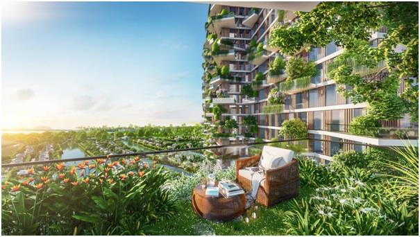Hàng loạt báo quốc tế viết về tòa tháp xanh Ecopark - Ảnh 2.