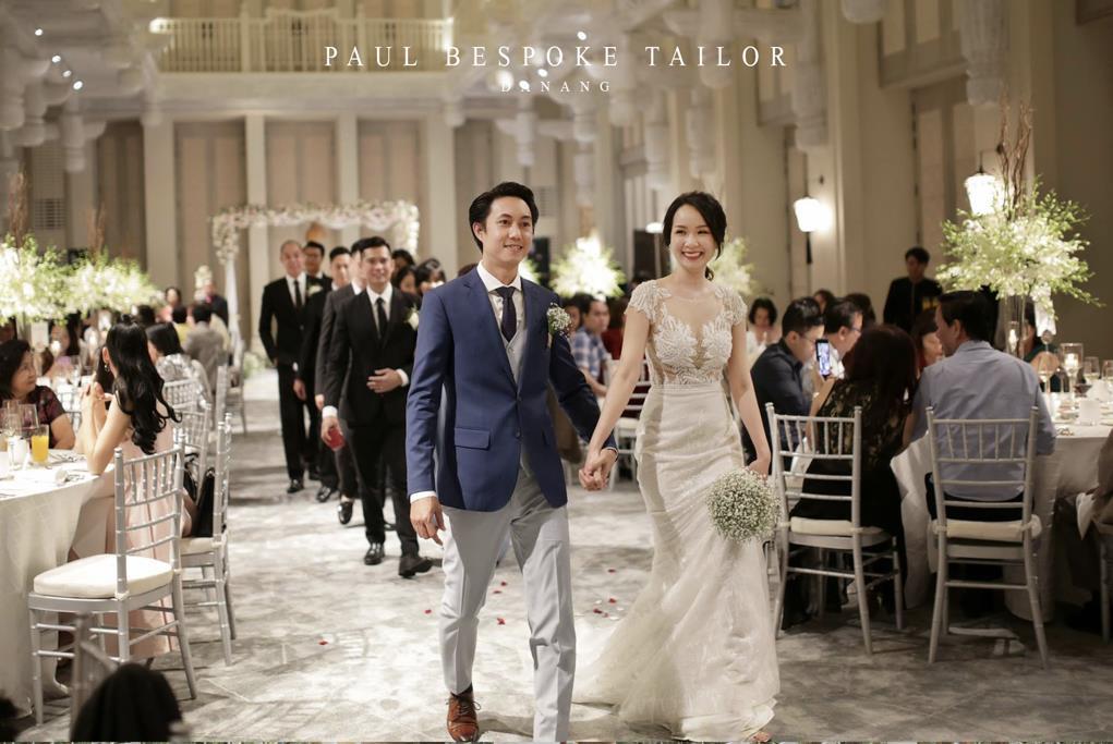 5 lý do may đo vest cưới trở thành xu hướng dành cho các chú rể - Ảnh 1.