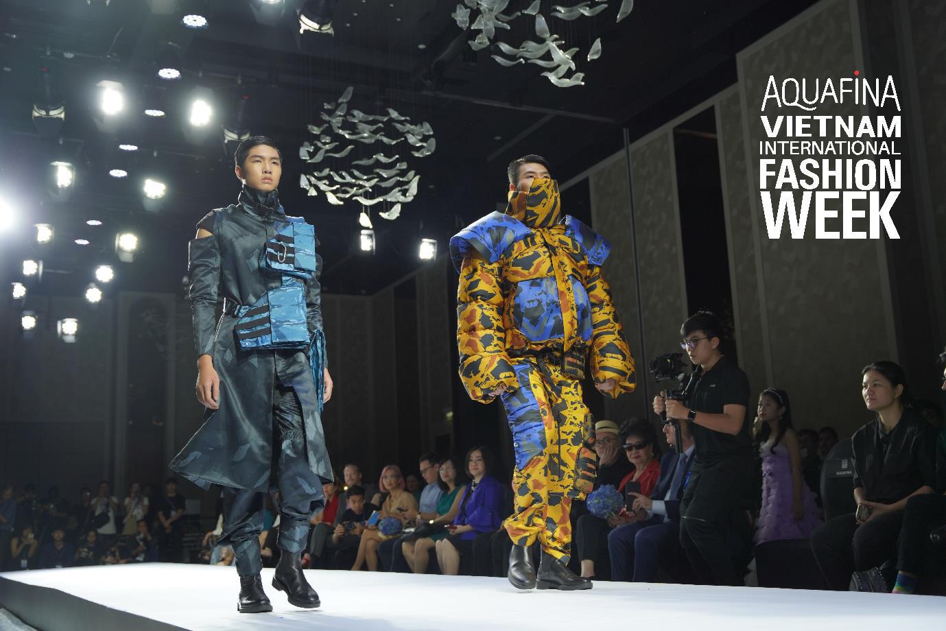 Aquafina Tuần lễ Thời trang Quốc tế Việt Nam 2020: Quy tụ NTK Công Trí, Đỗ Long, Lý Giám Tiền và loạt anh tài giới thời trang Việt - Ảnh 3.