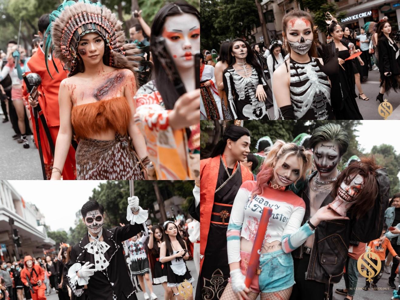 Halloween Festival siêu hoành tráng tại phố đi bộ hồ Hoàn Kiếm - Ảnh 3.