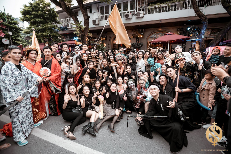 Halloween Festival siêu hoành tráng tại phố đi bộ hồ Hoàn Kiếm - Ảnh 9.