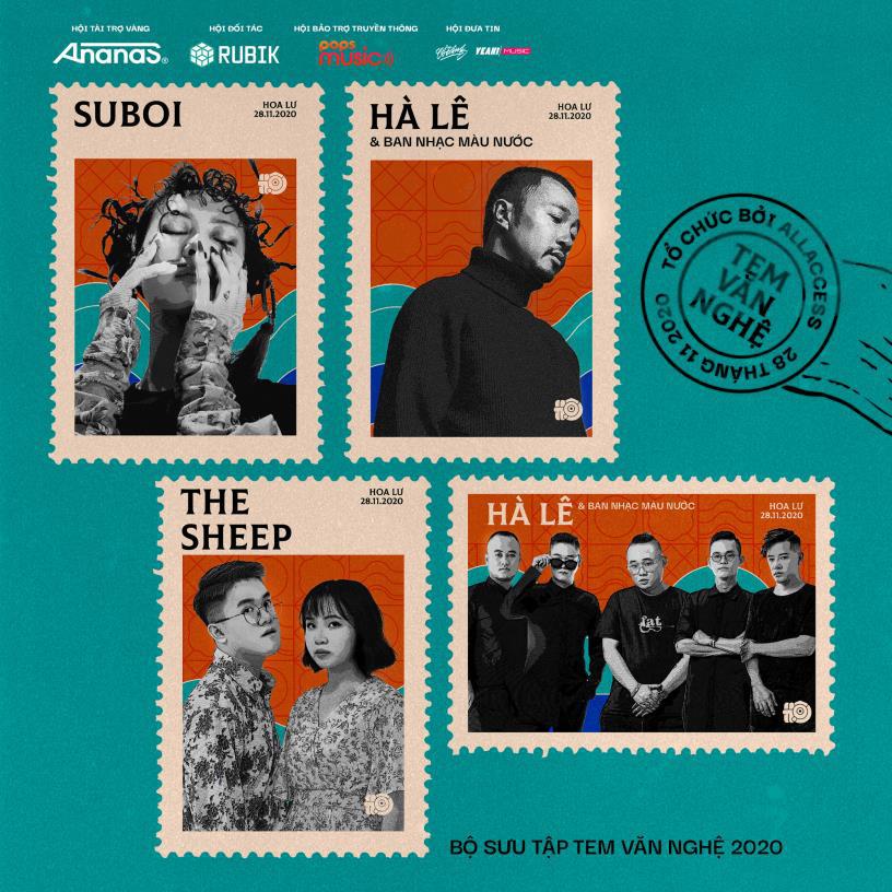 """Hội Music Festival tung dàn line-up """"chất ngất"""": Suboi, Cá Hồi Hoang, Chillies, Hoàng Dũng, The Sheep - Ảnh 1."""