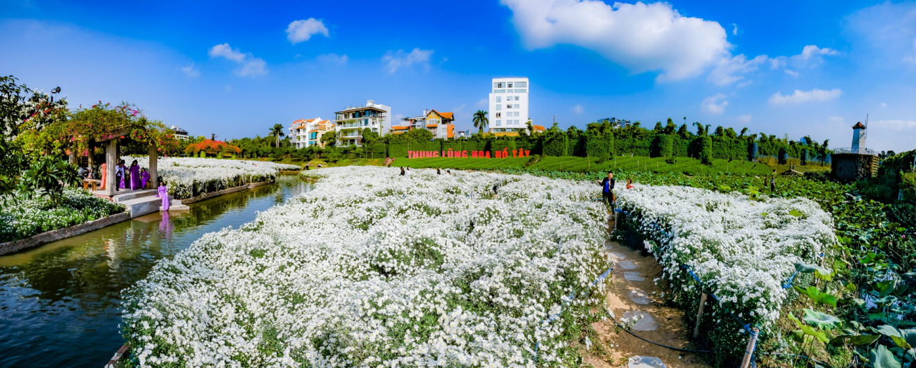 Địa điểm check-in các loài hoa đẹp bậc nhất trên thế giới nằm giữa lòng Hà Nội - Ảnh 1.