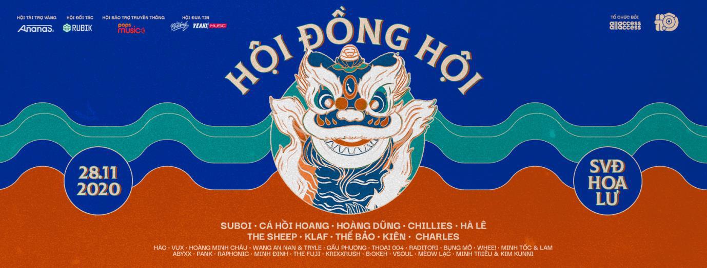 """Hội Music Festival tung dàn line-up """"chất ngất"""": Suboi, Cá Hồi Hoang, Chillies, Hoàng Dũng, The Sheep - Ảnh 4."""
