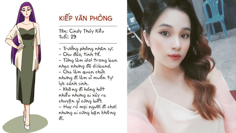 Hồng Thanh, Trang Hí sắp đụng độ trong Kiếp văn phòng - Ảnh 5.