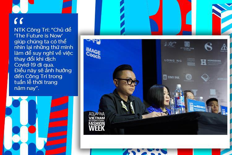 Vén màn bí mật đằng sau những họa tiết đinh trong BST đánh dấu sự trở lại của NTK Công Trí trong Aquafina Vietnam International Fashion Week - Ảnh 2.