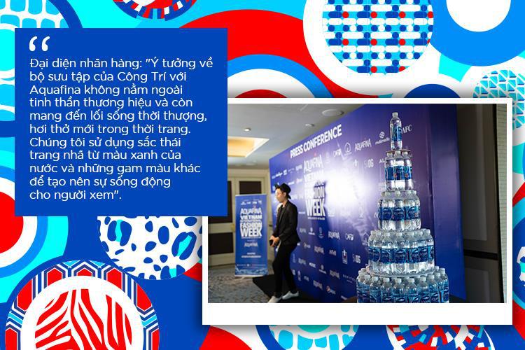 Vén màn bí mật đằng sau những họa tiết đinh trong BST đánh dấu sự trở lại của NTK Công Trí trong Aquafina Vietnam International Fashion Week - Ảnh 4.