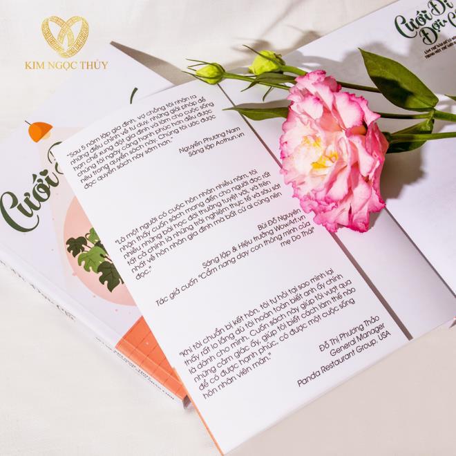Ra mắt sách hot: Cưới Đi Đợi Chi - Bí kíp vàng để có cuộc hôn nhân bền vững - Ảnh 5.