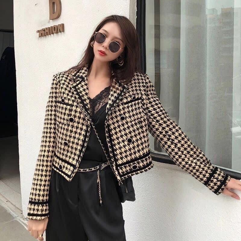 Lê Hồng Ngọc Cẩm Store lý giải xu hướng áo dạ tweed năm 2020 - Ảnh 2.