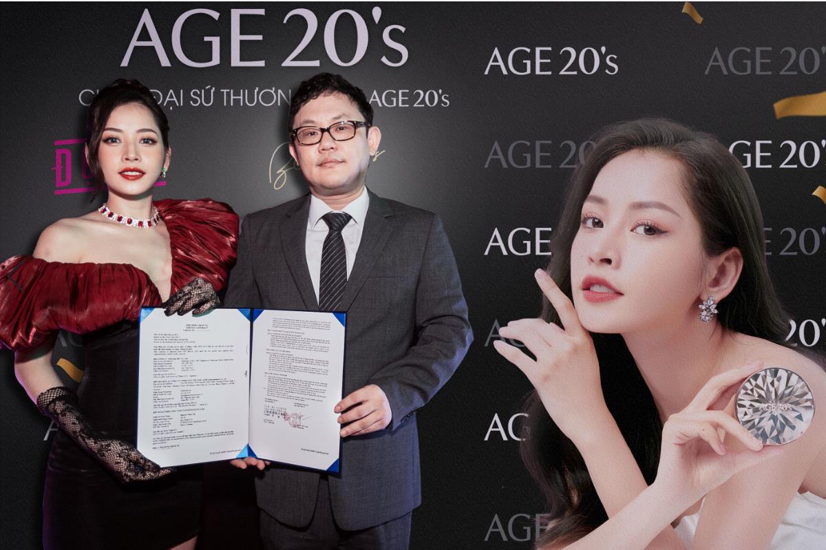 Chi Pu trở thành đại sứ thương hiệu mỹ phẩm AGE20's tại Việt Nam - Ảnh 1.