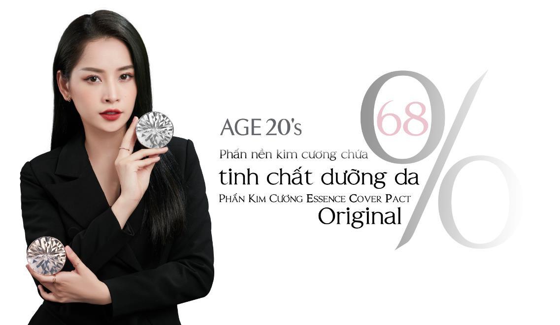Chi Pu trở thành đại sứ thương hiệu mỹ phẩm AGE20's tại Việt Nam - Ảnh 3.