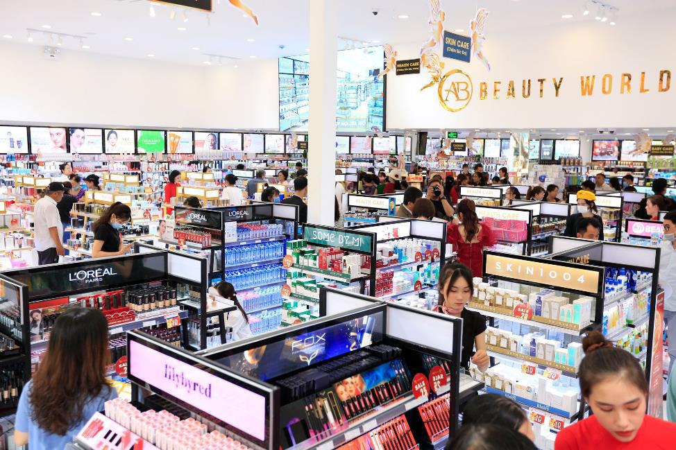 """Mỹ phẩm chính hãng giá chỉ 5k """"cháy hàng"""" tại AB Beauty World – chi nhánh 5 - Ảnh 1."""