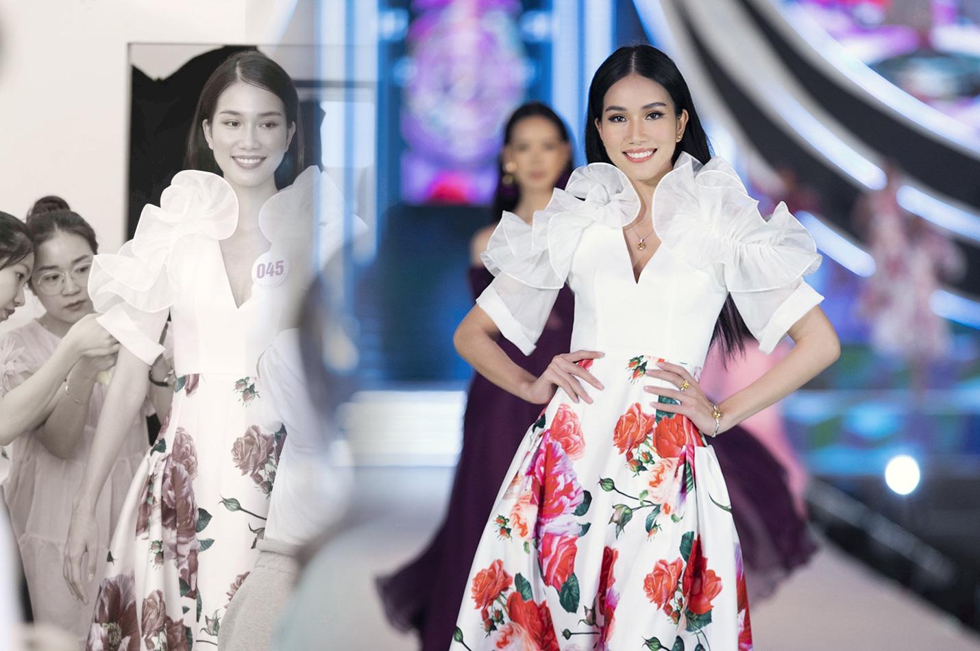 Những khoảnh khắc tỏa sáng của top 3 Hoa hậu Việt Nam cùng thời trang NEVA - Ảnh 3.