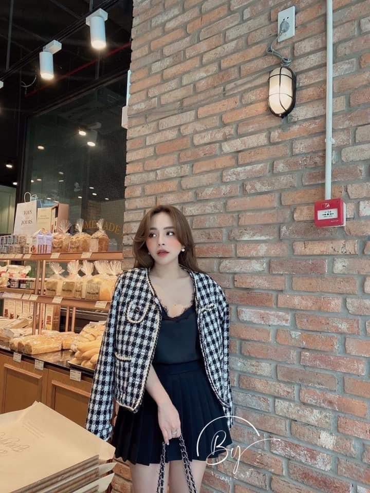 Lê Hồng Ngọc Cẩm Store lý giải xu hướng áo dạ tweed năm 2020 - Ảnh 3.