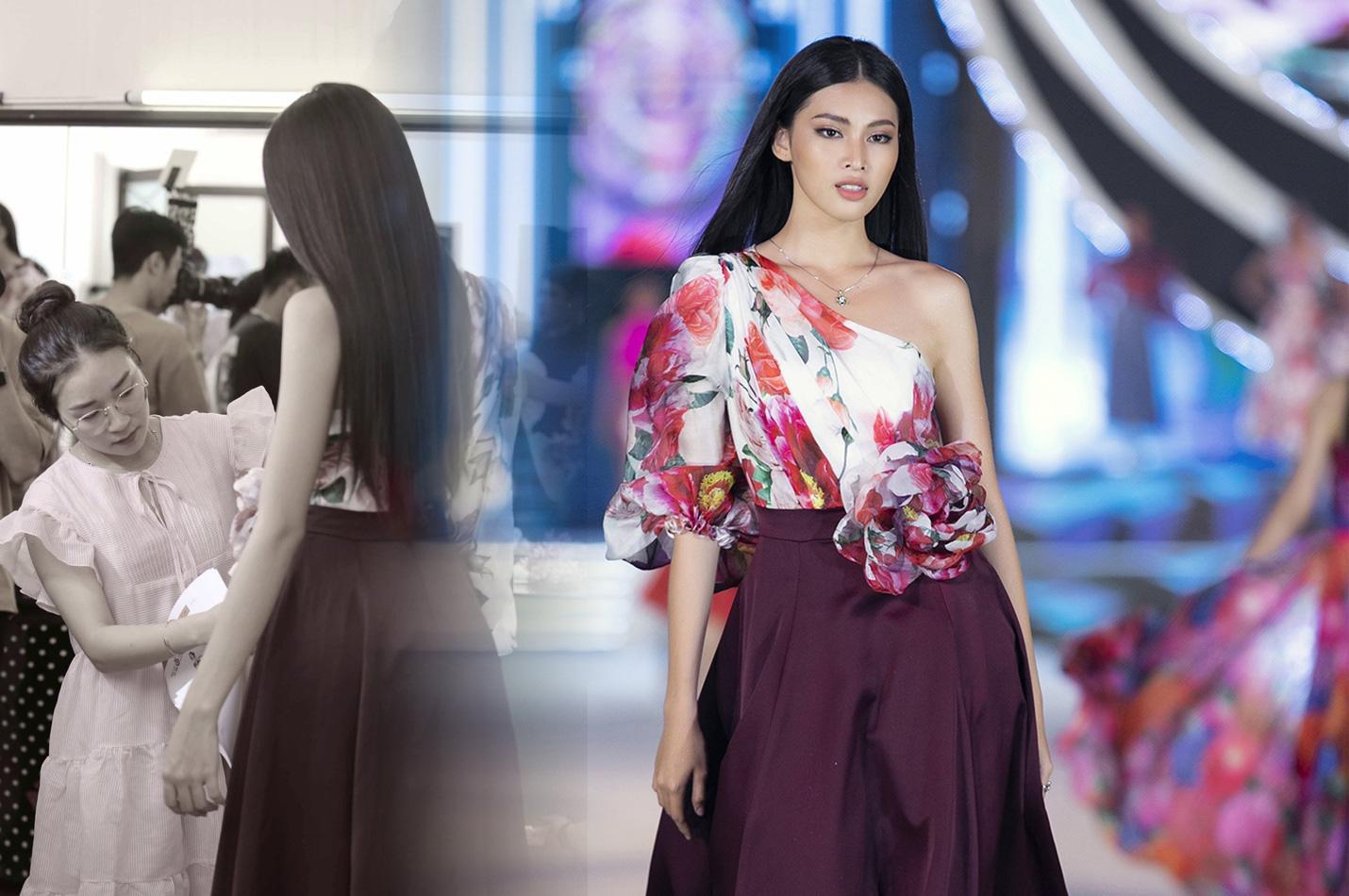 Những khoảnh khắc tỏa sáng của top 3 Hoa hậu Việt Nam cùng thời trang NEVA - Ảnh 4.
