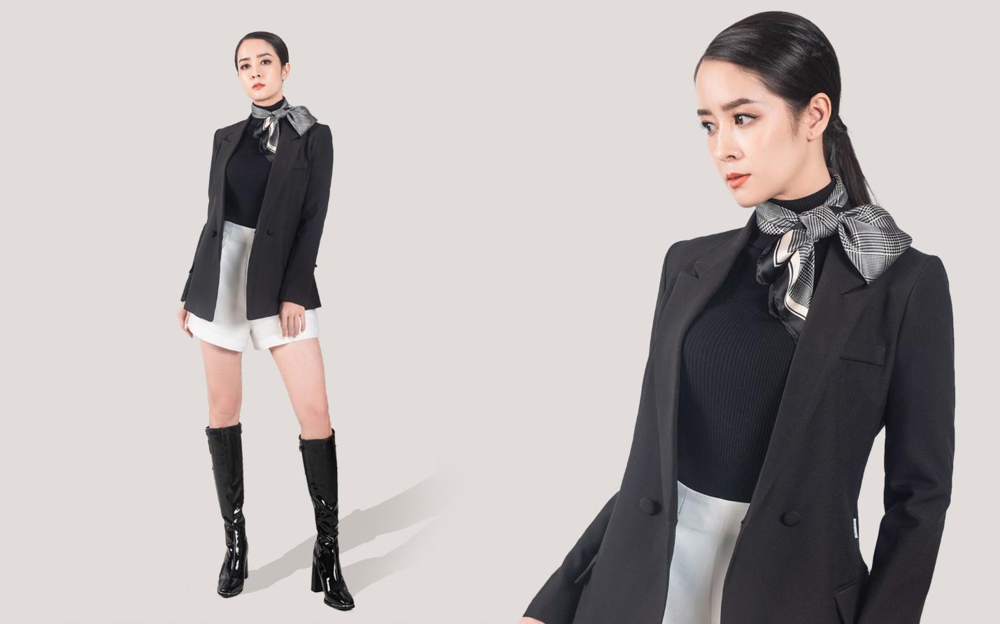 """Cùng diễn viên Thùy Dương khám phá 5 cách """"mix and match"""" với vest để luôn trẻ trung, thời thượng - Ảnh 1."""