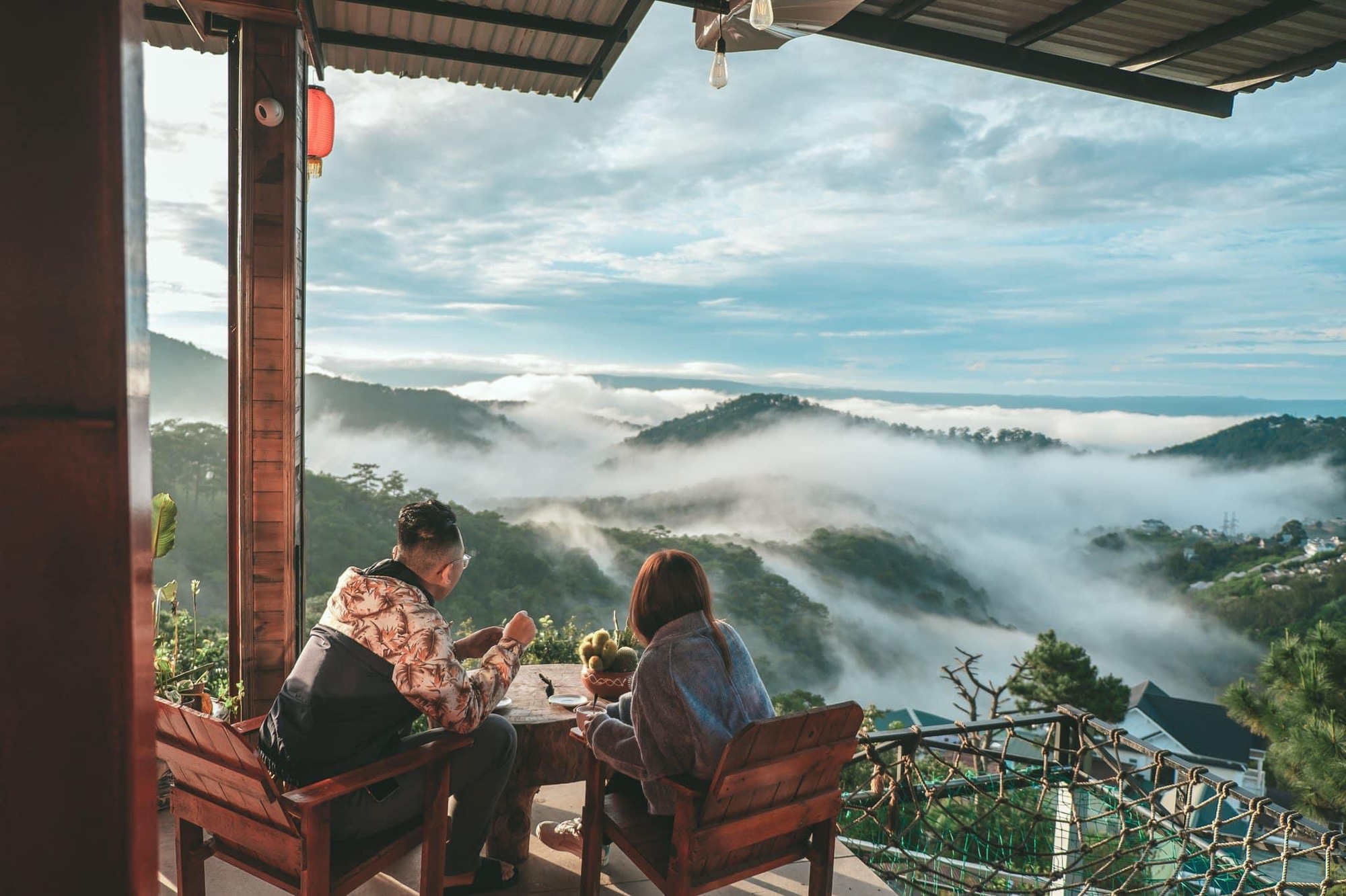 """Kimochi coffee địa điểm """"săn mây"""" không thể bỏ lỡ tại """"Vùng đất mơ"""" Đà Lạt - Ảnh 2."""
