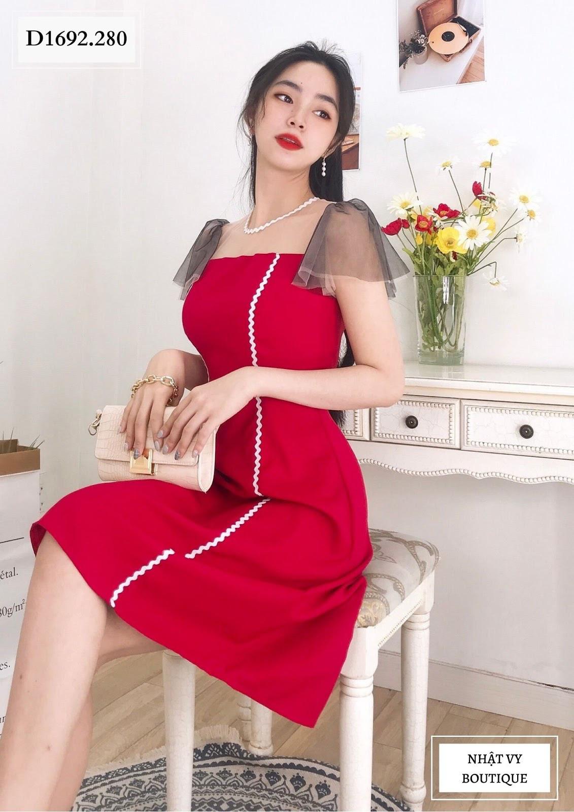 Sắm ngay váy áo ngọt ngào diện thu đông ở Nhật Vy Boutique - Ảnh 3.