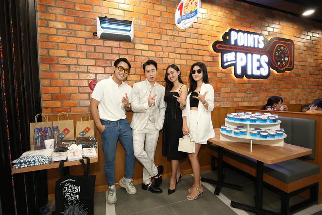 """Sau Chung kết Rap Việt, Karik trở thành """"Hoàng tử pizza"""" khuấy động buổi khai trương cửa hàng thứ 50 - Domino's Phạm Hồng Thái - Ảnh 4."""