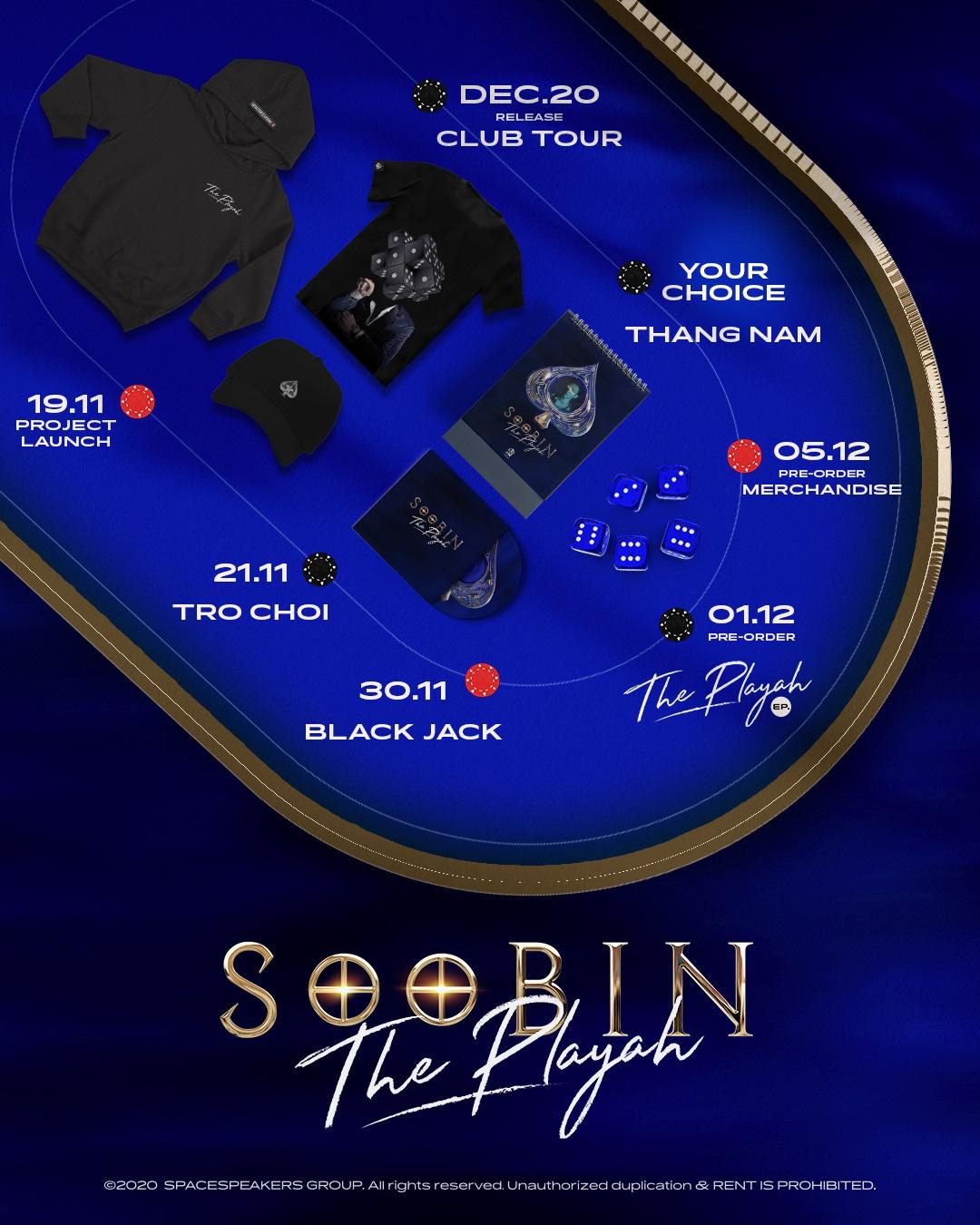 """Tóm lại, EP """"The Playah"""" của SOOBIN có gì mà trở thành 1 trong những dự án được đón chờ nhất cuối năm 2020? - Ảnh 2."""