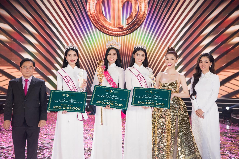 CEO Sìe Dentist trao tặng phần thưởng 600 triệu đồng cho Top 3 Hoa hậu Việt Nam 2020 - Ảnh 6.