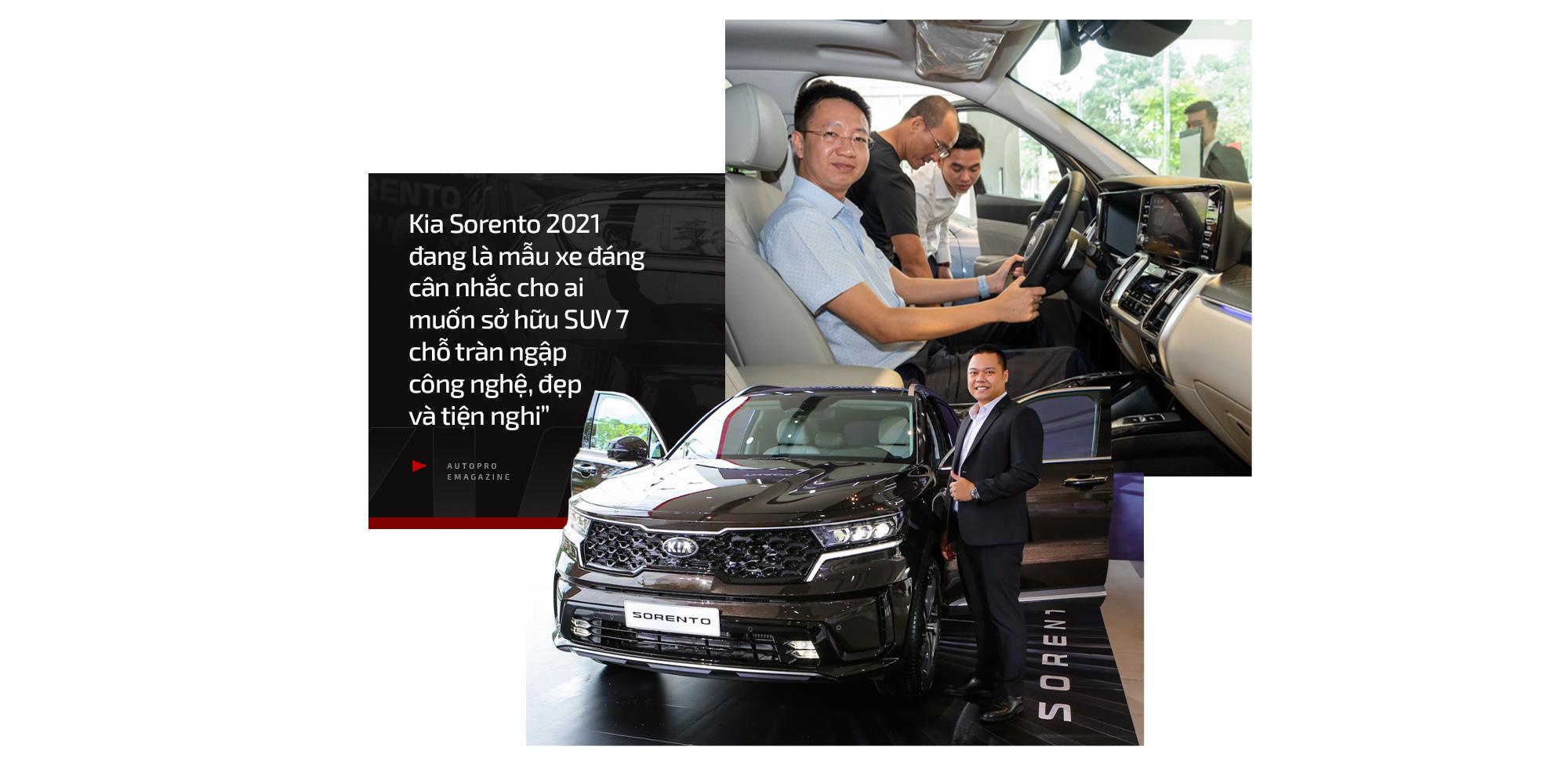Kia Sorento 2021 qua cảm nhận của khách hàng Việt: Mẫu xe đáng cân nhắc ở thời điểm hiện tại - Ảnh 12.