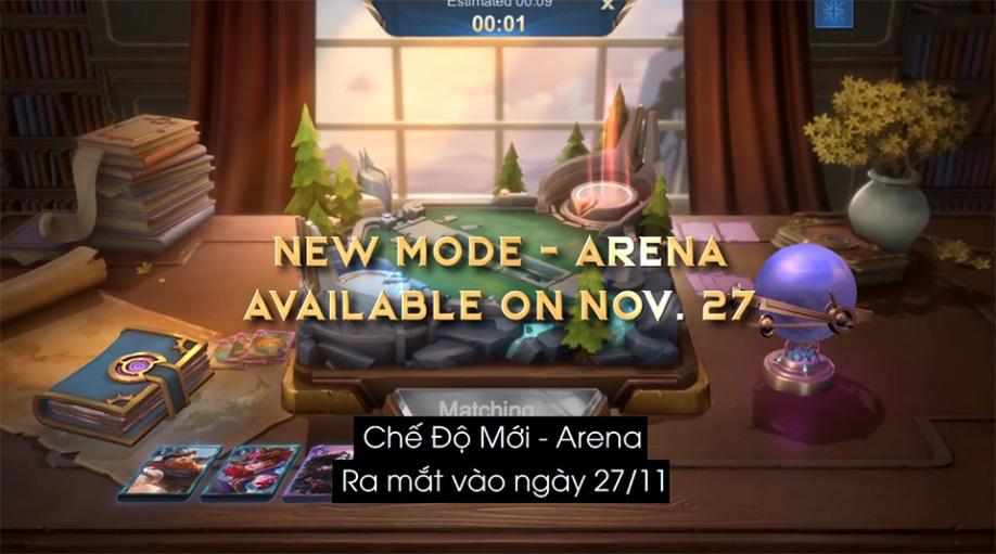 Arena - Chế độ chơi mới 1v1 của Mobile Legends: Bang Bang VNG sẽ ra mắt vào ngày 27/11 - Ảnh 1.