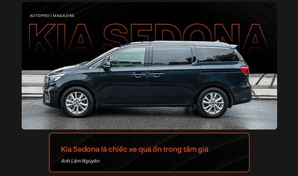 Người dùng đánh giá Kia Sedona: Đích thực xe 7 chỗ cỡ lớn cho gia đình - Ảnh 2.