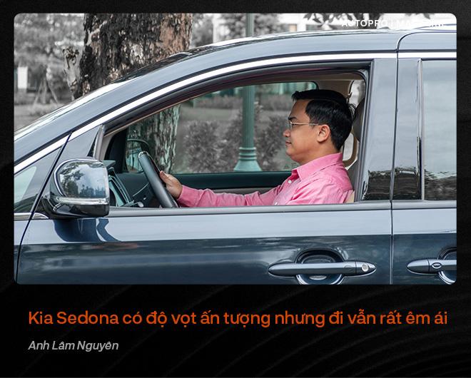 Người dùng đánh giá Kia Sedona: Đích thực xe 7 chỗ cỡ lớn cho gia đình - Ảnh 11.